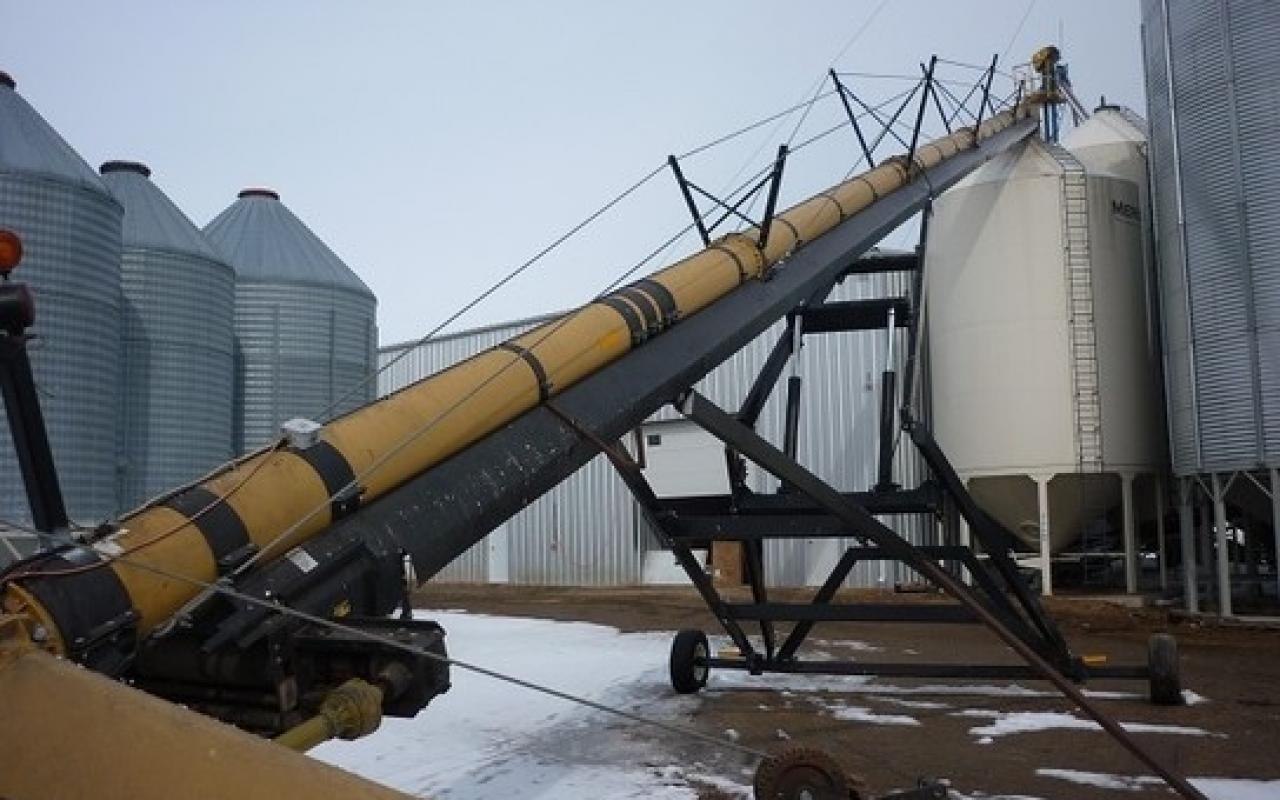 Hydraulic Conveyor Drive : Convey all tube conveyor flaman agriculture