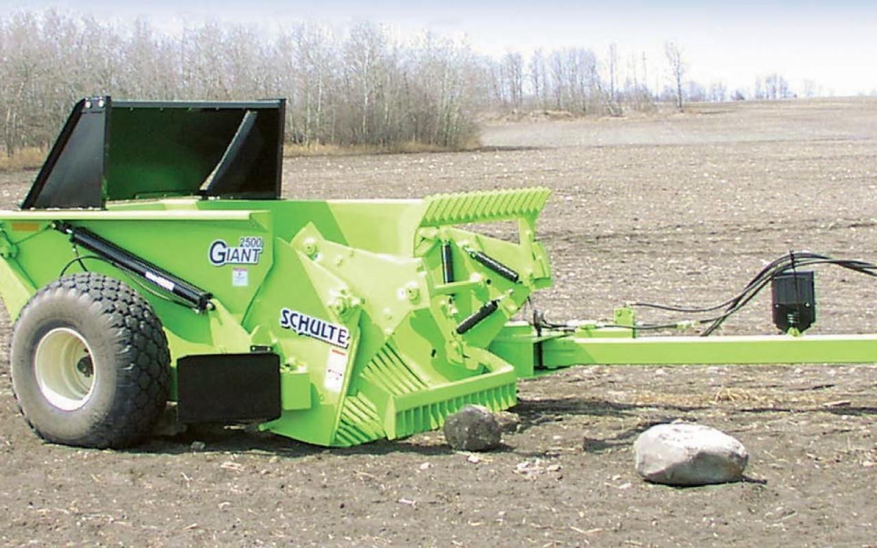 Nearest Used Tire Shop >> Rock Picker | Schulte 2500 Giant Rock Picker | Flaman Agriculture