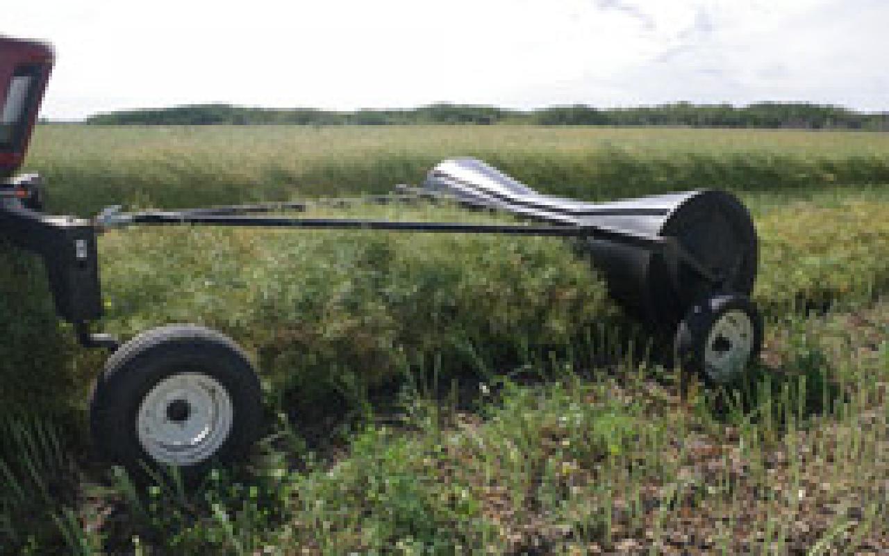 Swath Rollers Koenders Tow Behind Roller Flaman Agriculture