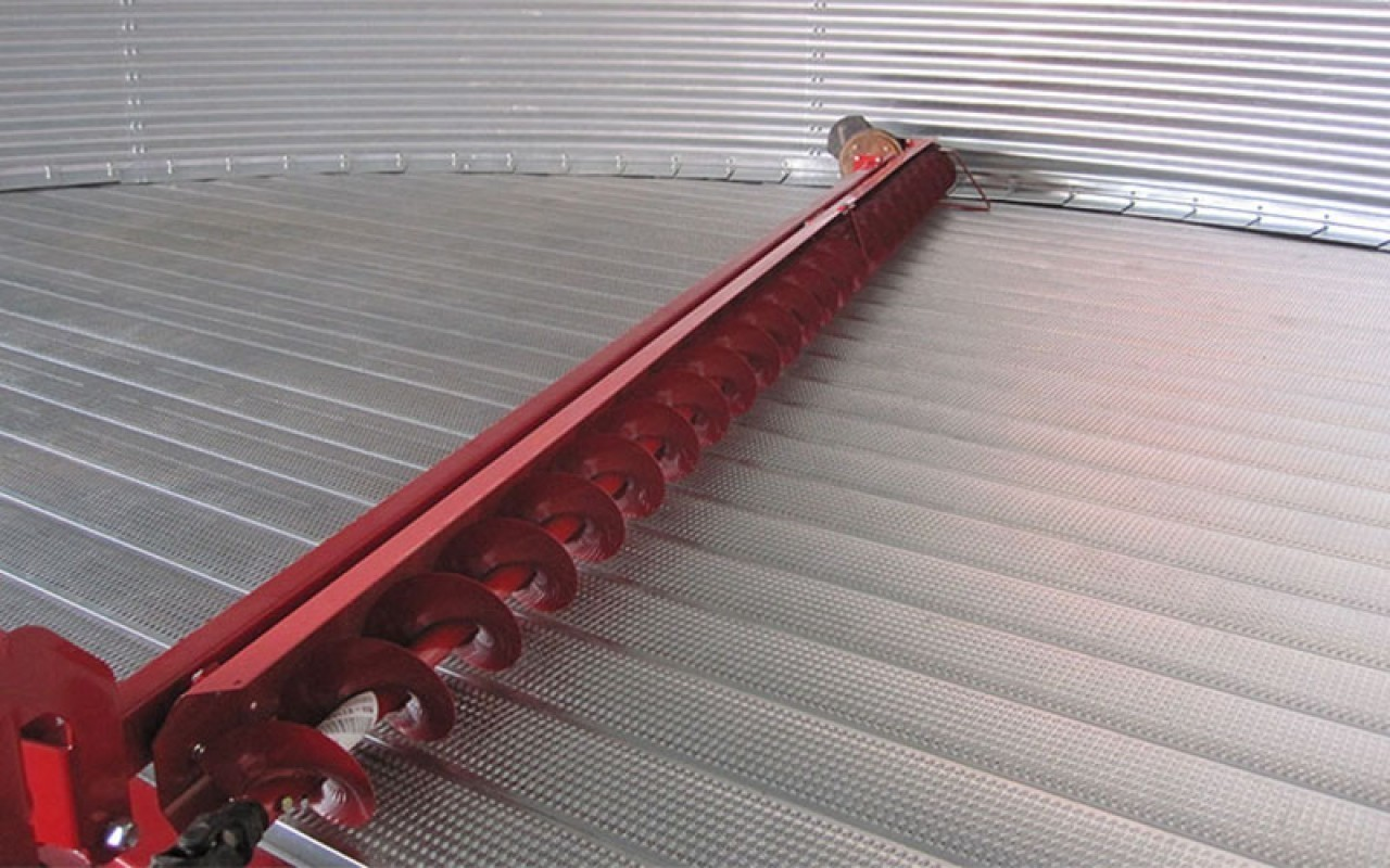 Flat Bottom Grain Bins Twister Grain Storage Flaman