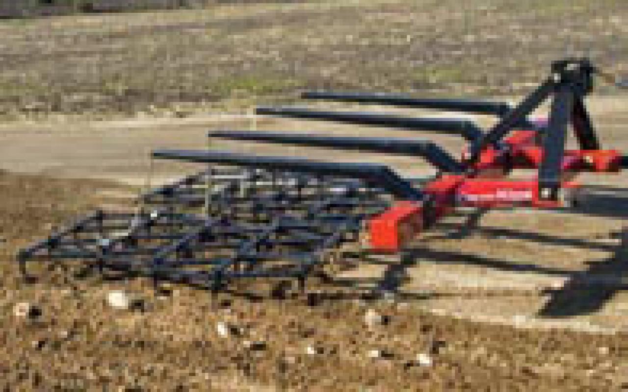Harrow Drag Frame : Drag harrow farm king flaman agriculture