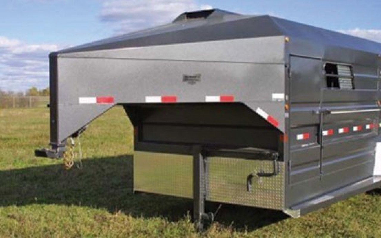 Gooseneck Stock Trailers Flaman Agriculture