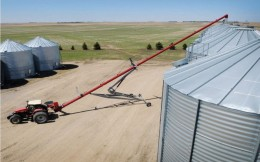 SLMD Swing Grain Auger