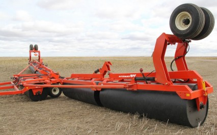 Land roller with Forward Unfolding system
