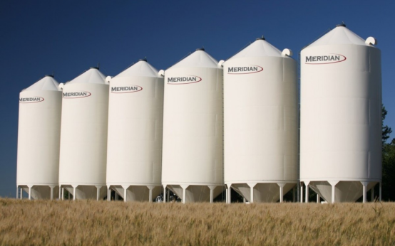 Grain Max Hopper Bottom Bin   Grain Storage   Flaman Agriculture